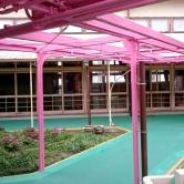 広島で外壁塗装【五日市市T保育園様「鉄骨塗装工事」】のイメージ