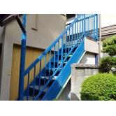 広島で外壁塗装【広島県広島市西区新庄町K様邸「手摺り・階段塗装」】のイメージ