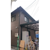 広島で外壁塗装【山口県岩国市N様邸「外壁・屋根塗装」】施工前のイメージ1