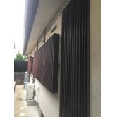広島で外壁塗装【広島県広島市佐伯区五日市T様邸「木部格子塗装」】施工前のイメージ1