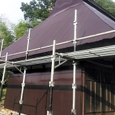広島で外壁塗装【広島県世羅郡世羅町黒川K様邸「屋根塗装」】のイメージ