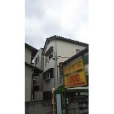 広島で外壁塗装【 広島県広島市南区出汐 O様邸「外壁塗装」】施工前のイメージ1