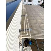 広島で外壁塗装【広島県福山市Y様物件「配管塗装」】施工後のイメージ1