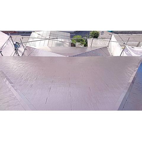 広島で外壁塗装【広島県広島市西区N様邸「屋根塗装」】のイメージ